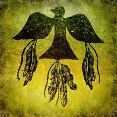 Spirit Feathers and Thunderbird