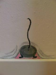 muurschildering muis - pimpelotje.com