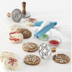 Pečiatky na darčekové a vianočné sušienky