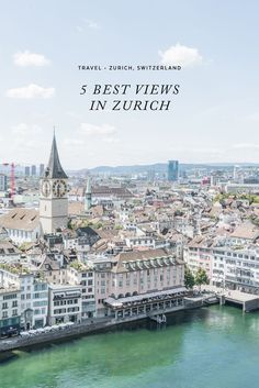 There is no shortage of stunning view points in Zurich. Here are five of my top favorite places to see panoramic views of Zurich. European Vacation, European Travel, Vacation Spots, Europe Travel Tips, Places To Travel, Travel Destinations, Budget Travel, Travel Guide, Suiza Zurich