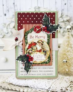Nov 2014 G45 Melissa Phillips LilyBean - Be Merry - Twas Night Before Xmas