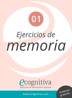 Ejercicios de Memoria | Estimulación Cognitiva Para Mayores (PDF) Caregiver, Acting, Company Logo, School, Books, Ideas, Teaching Supplies, Memory Games, Cognitive Activities