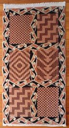 Vintage Maori Design Floor Rug - Rare for sale on Trade Me, New Zealand's auction and classifieds website Maori Patterns, Maori People, Maori Designs, Floor Rugs, New Zealand, Conference, Style Me, Design Inspiration, Inspire