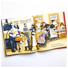 """""""My girls love this Thanksgiving book, written by the same author as SOPHIE'S SQUASH. I love the old-fashioned illustrations and the ebullient rhyme.…"""""""