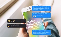 Did you know? You can text us! We won't send you any gimmicky stuff or sign you up for anything, and we won't share your data. It's a real person, not a bot. Give it a try--text us! (303) 529-2494 #MakeKindnessTheNorm Kindness Ideas, Gel Pens, Real People, Did You Know, Knowing You, Connection, Positivity, Messages, Sign