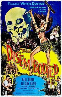 The Disembodied - 1957 - Movie Poster