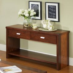 Somerton Dwelling Infinity Console Table & Reviews   Wayfair