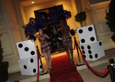 Casino night, love the dice