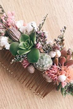 These Are the Ethereal (Affordable!) Succulent Hair Accessories of Your Wedding Dreams