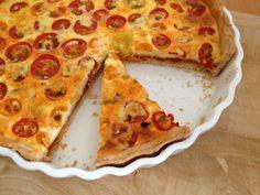rote & gelbe tomaten: eine tarte!