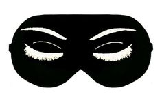Audrey Hepburn Eyelashes Holly Golightly Breakfast At Tiffany's Sleep Sleeping Eye Mask Masks Cover Night Blindfold Blindfolds cover Slumber by venderstore on Etsy
