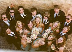 Funny Wedding Party Poses | Fun Wedding Ideas / Group Photography Ideas: 20 Creative Wedding Poses ...