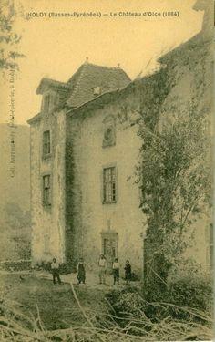 Iholdi château d'Olce Picabéa