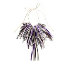 Bib Necklace Fabric Necklaces African Womens Bibs Hipster Jewelry Jewellery Tribal Neckpiece Fashion Unique Necklush Eggplant Brown Purple