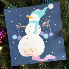 Do you wanna build a snowman~ 눈 내릴 것 같은 날씨에요☃️ #illustration #gouache #painting #acrylagouache  #art #artist #artistsoninstagram #snowman #girl #kidsart #whimsical #kidlit #kidlitart #jjlynndesign #artwork #일러스트 #페인팅 #과슈 #아크릴과슈 #과슈페인팅 #제이제이린 #그림 #눈사람 #겨울 #동화일러스트 #소녀 #손그림 #illustagram #그림스타그램 #그림쟁이