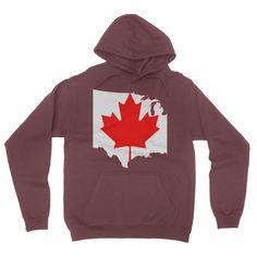 Canada California Fleece Pullover Hoodie
