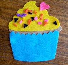 Cupcake busy bag pdf pattern