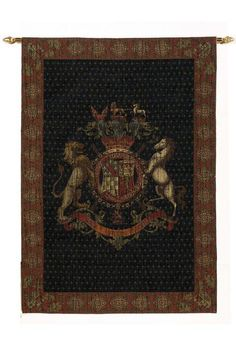 Old World Crest Tapestry - Tapestries - Wall Decor - Home Decor | HomeDecorators.com
