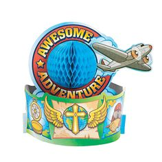 Awesome Adventure Centerpiece - OrientalTrading.com