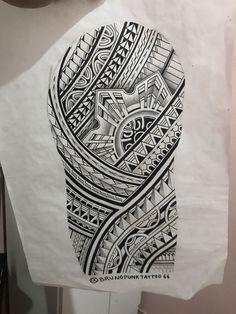 Half Sleeve Tribal Tattoo Designs For Men Bohemian Tattoos