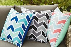 Albatross Outdoor Cushions by Mulberi Outdoor Cushions, Indoor Outdoor, Home Goods, Throw Pillows, Cool Stuff, Balcony, Houses, Furniture, Homes