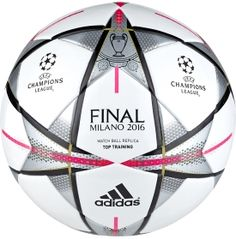 adidas UEFA Champions League Finale Milano Top Training 16 Soccer Ball | DICK'S Sporting Goods