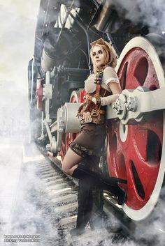 Steampunk Photographer: Alexey Vododokhov Please, visit my cosplay page on Facebook: www.facebook.com/Captain-Irach… Instagram: captain_irachka