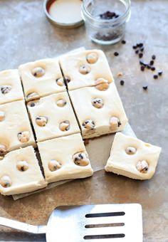 Vegan Cookie Dough Cheesecake Bars