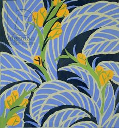 E.A. Seguy: flowers and foliage, c. 1925 / The Stapleton Collection