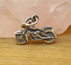 Hey, I found this really awesome Etsy listing at https://www.etsy.com/listing/270241392/sterling-silver-motorcycle-charm-chopper