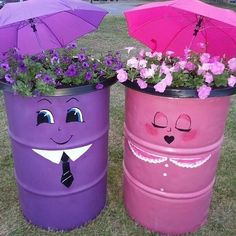 My newest project! Garden Crafts, Garden Projects, Craft Projects, Projects To Try, Clay Flower Pots, Clay Pots, Cute Crafts, Crafts For Kids, Diy Crafts