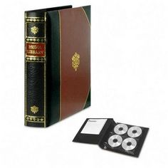 Another CD/DVD storage option ~ looks like a book!