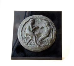 Hercules and Nymph - Ancient Greek Mirror Cover