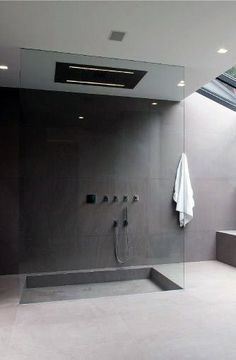 Top 70 Best Cool Showers - Unique Bathroom Design Ideas Bathe in a place where you won't want to just get in and out with the top 70 best cool showers. Explore unique bathroom interior design ideas for your home. Modern Bathroom Design, Contemporary Bathrooms, Bathroom Interior Design, Bathroom Designs, Modern Design, Interior Modern, Bad Inspiration, Bathroom Inspiration, Minimalist Showers