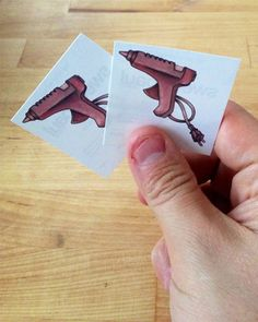 New Hot Glue Gun Temporary Tattoos: Great recipes and more at http://www.sweetpaulmag.com !!