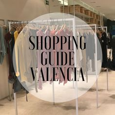 One of the cities in Spain that is best renowned for its shops is Valencia, that's why shopping is definitely a must when you are visiting the city. To help you out a little bit, I made an overvi Valencia Shopping, Valencia City, Alicante, Madrid, Spain Fashion, Permanent Vacation, Shopping Street, Spain And Portugal, Travel Images