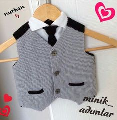 rg-erkek-bebek-s-veter-yap-m-t-i-rg-erkek-bebek-s-veter-yap-m-t-i-canim/ - The world's most private search engine Crochet For Boys, Knitting For Kids, Baby Knitting, Crochet Diy, Knitted Baby, Baby Boy Sweater, Baby Boy Dress, Baby Boys, Kids Ethnic Wear