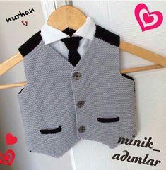 rg-erkek-bebek-s-veter-yap-m-t-i-rg-erkek-bebek-s-veter-yap-m-t-i-canim/ - The world's most private search engine Crochet For Boys, Knitting For Kids, Baby Knitting, Knitted Baby, Crochet Diy, Baby Boy Sweater, Baby Boy Dress, Baby Boys, Kids Ethnic Wear