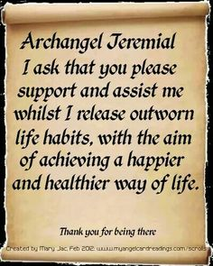 Archangel Jeremial...