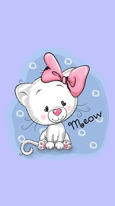 Cat Tattoo, Cartoon Styles, Cute Wallpapers, Cat Art, Emoji, Hello Kitty, Digital Art, Funny Pictures, Snoopy