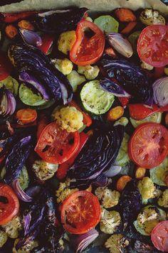 Roasted Armenian vegetables