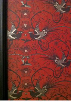 Catherine Martin wallpaper - PHEASANT Available from www.wallpaperbrokers.com.au
