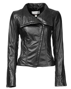 Danier, leather fashion and design./ I don,t know if I could bring myself to wear real leather, but if I would, this would be the one
