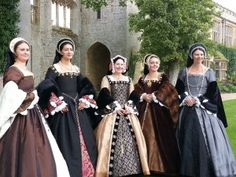 Tudor Gowns. My name is Zarrina. I am passionate about the Tudor Period. I create Tudor court gowns for all your Tudoring needs!- Parties, re-enactments, Weddings, film & t.v.