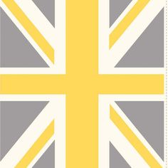 Riley Blake Designs - Union Jack - Union Jack Panel in Yellow