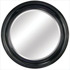Yosemite Round Round Black Framed Mirror - YMW003G - Lowest price online on all Yosemite Round Round Black Framed Mirror - YMW003G