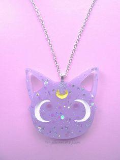 Diana collar - Sailor Moon-Anime-Fairy Kei-Kawaii-Luna Artemis