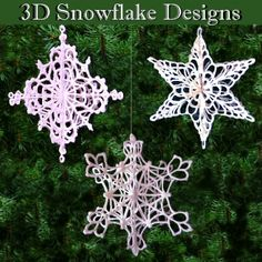3D Snowflakes Collection