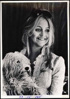 "Young Goldie Hawn Vintage 7"" x 10"" Original Publicity Photo by Goldie Hawn"