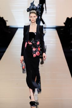 Armani Privé Fall 2011 Couture Collection Slideshow on Style.com